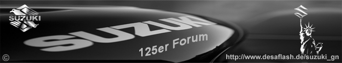 Suzuki 125er Forum. Alles über 125 ccm Suzuki Leichtkrafträder
